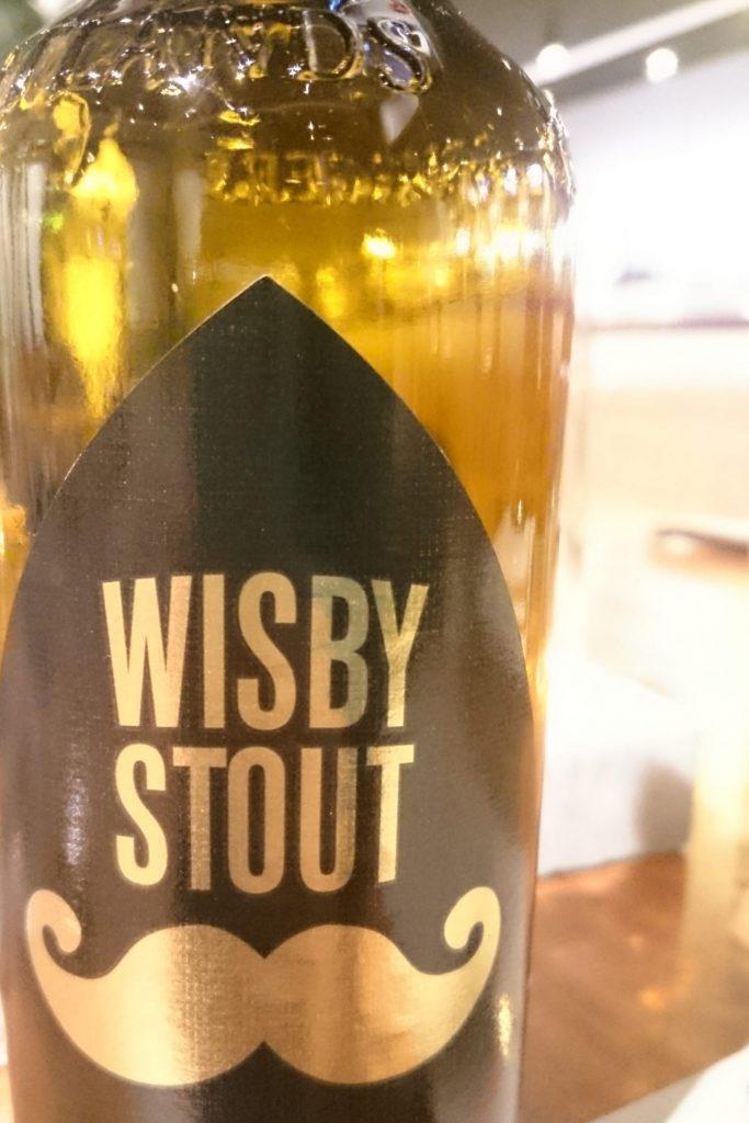 スウェーデン最初のビール wisby stout